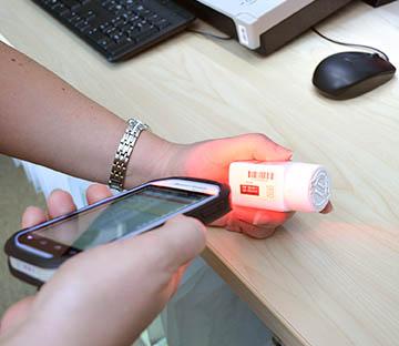 Beacon Mobile scanning